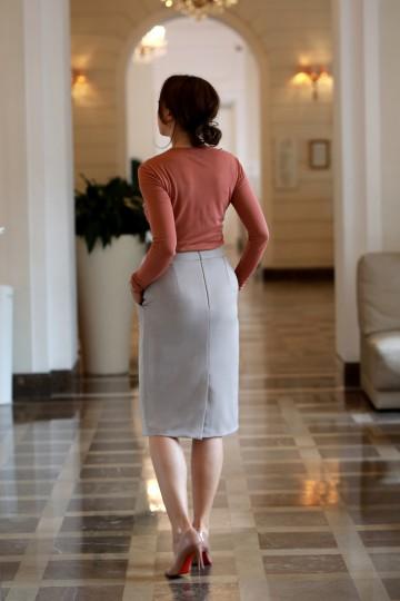 Algorithm Beige Skirt