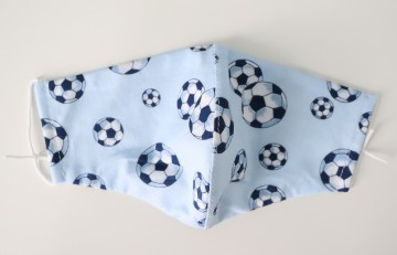 Fabric Mask Kids: Football
